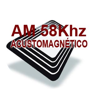 CONSUMIBLES SEGURIDAD ANTIHURTO ACUSTMAGNÉTICO - AM 58 Khz