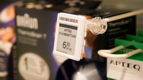 Etiquetas electronicas farmacia