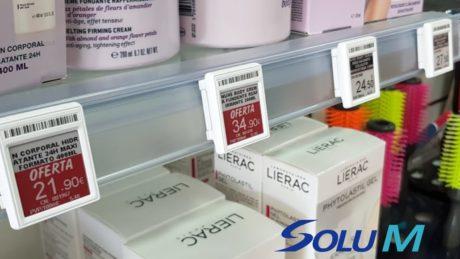 etiquetas electrónicas farmacia