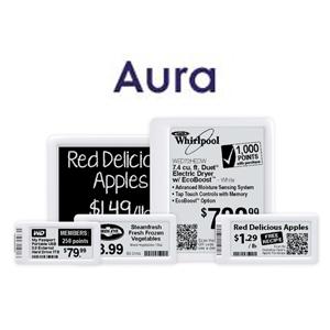 Etiqueta Electrónica Gráfica - SERIE AURA
